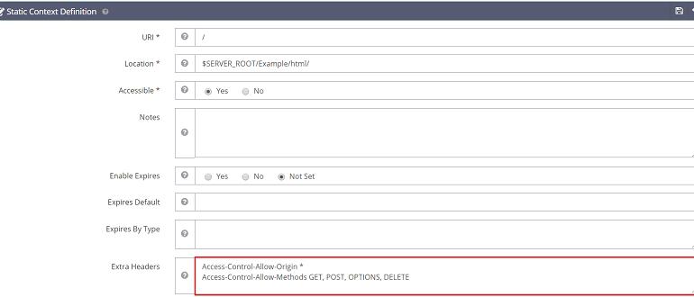 Guide to Setting Up CORS on OpenLiteSpeed • OpenLiteSpeed