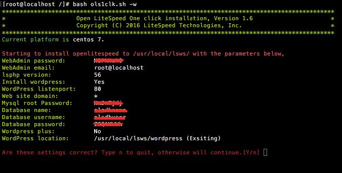 Easily Install OpenLiteSpeed in 1 Click! • OpenLiteSpeed