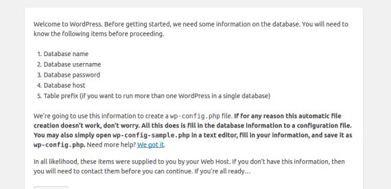 Quick Install WordPress on OpenLiteSpeed • OpenLiteSpeed